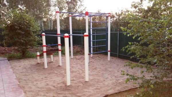 Фото площадки спорт.снарядов