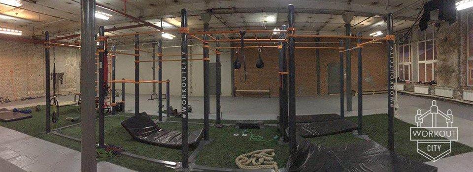 Видео отчет с тренировок в зале Workout District
