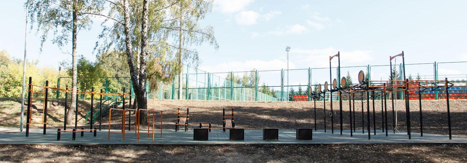 Проект спортивной площадки для воркаута и функционального тренинга WPFO – 40x20
