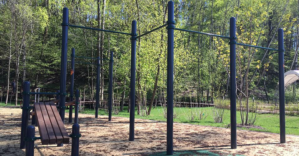 W-039 Функциональный спортивный комплекс  workoutcity gym&play